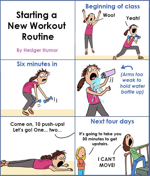 New Year, New You | Hedger Humor